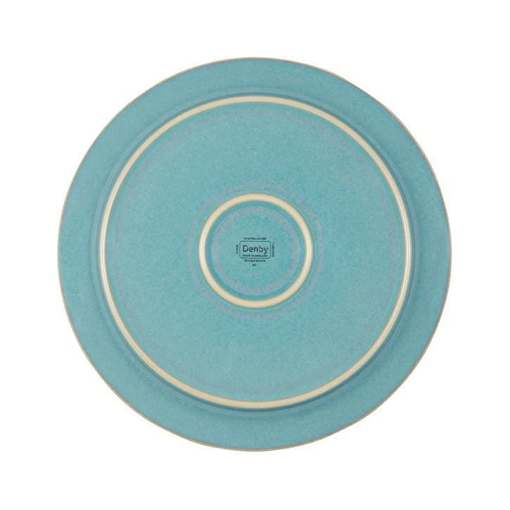 Azure Coast Medium Plate, 22.5cm, Blue