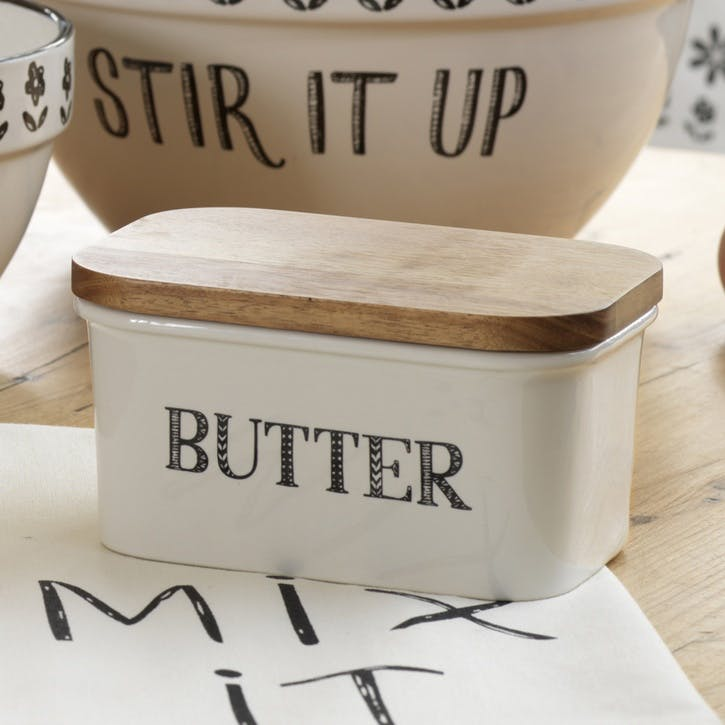 Stir It Up Butter Dish