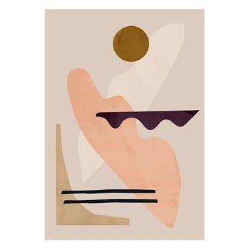 Mellow - Jan Skacelik Art Print D30cm x H40cm