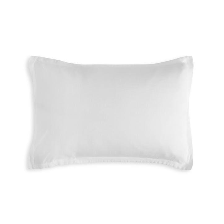 Classic Oxford Pillowcase, Single, White