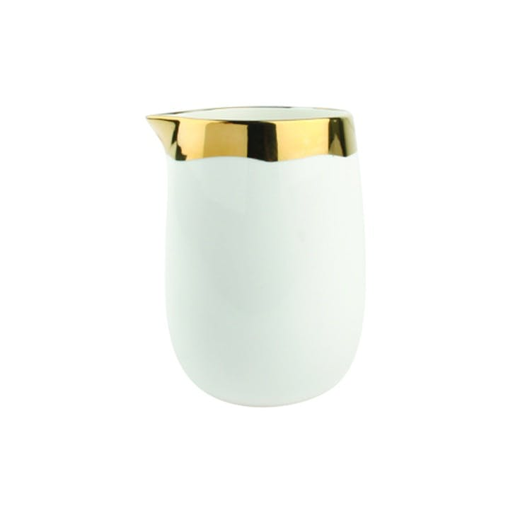 Dauville Milk Jug, Gold