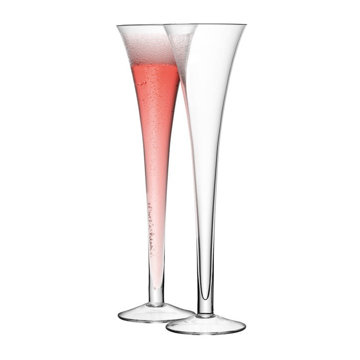LSA Bar Champagne Flute, Grand, 225ml, Set of 2