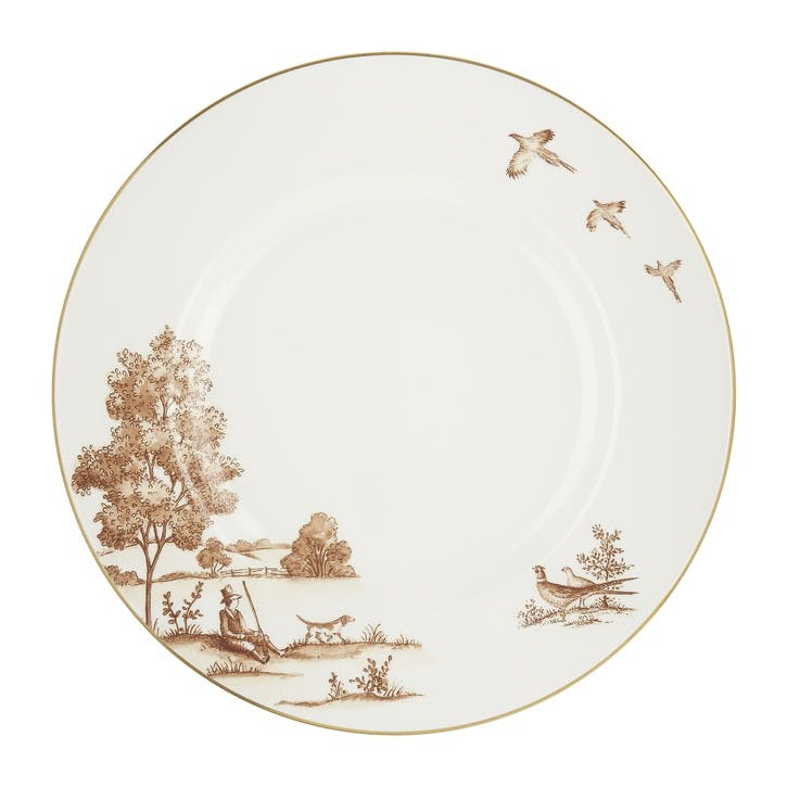 Sporting Life China Large Dinner Plate