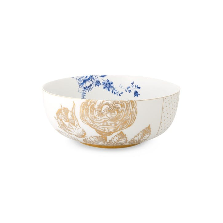 PiP Royal White Salad Bowl
