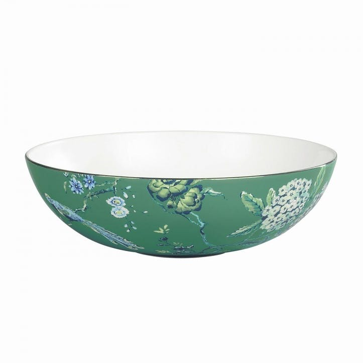 Chinoiserie Serving Bowl, Green