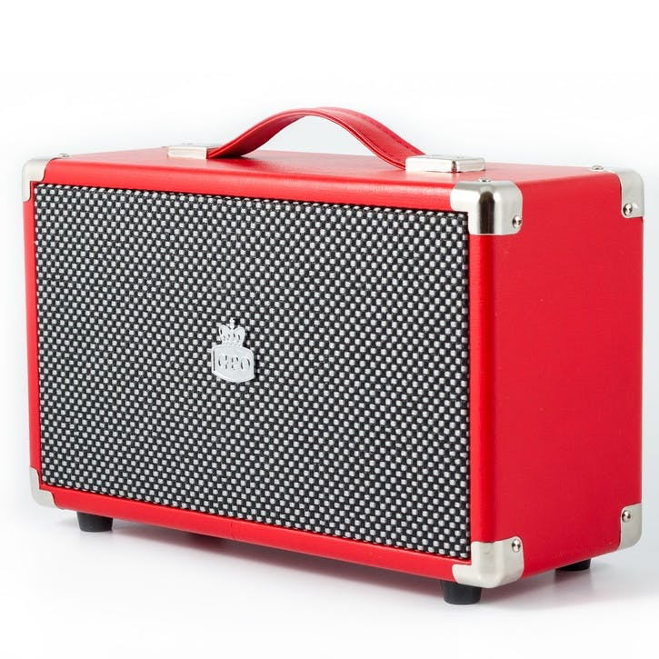 Westwood Speaker; Pillar-Box Red