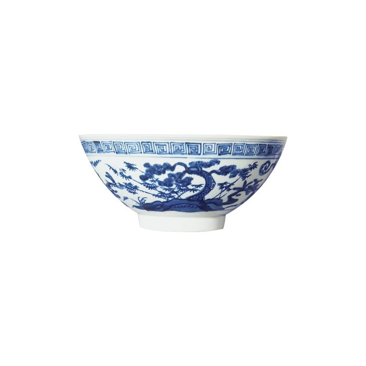 Kraakware Deep Serving Bowl
