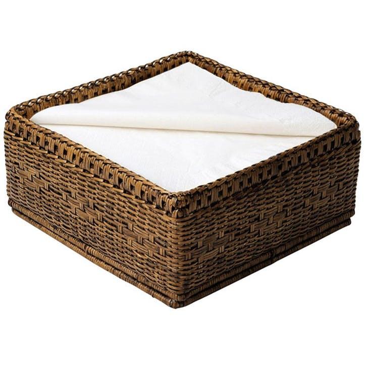 Rattan Paper Napkin Basket