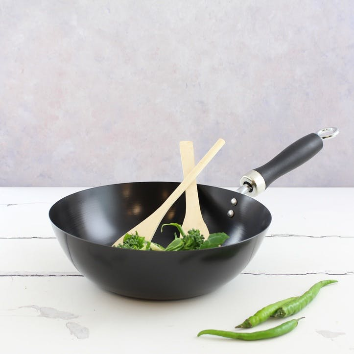 Stir Fry/Wok Set, Non-Stick, 25cm