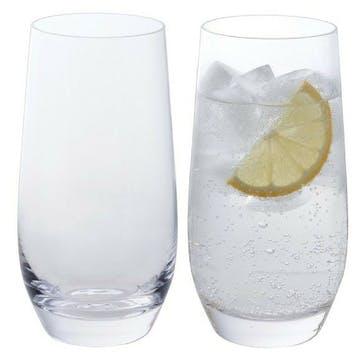 Wine & Bar Essentials Highball Glasses - Pair