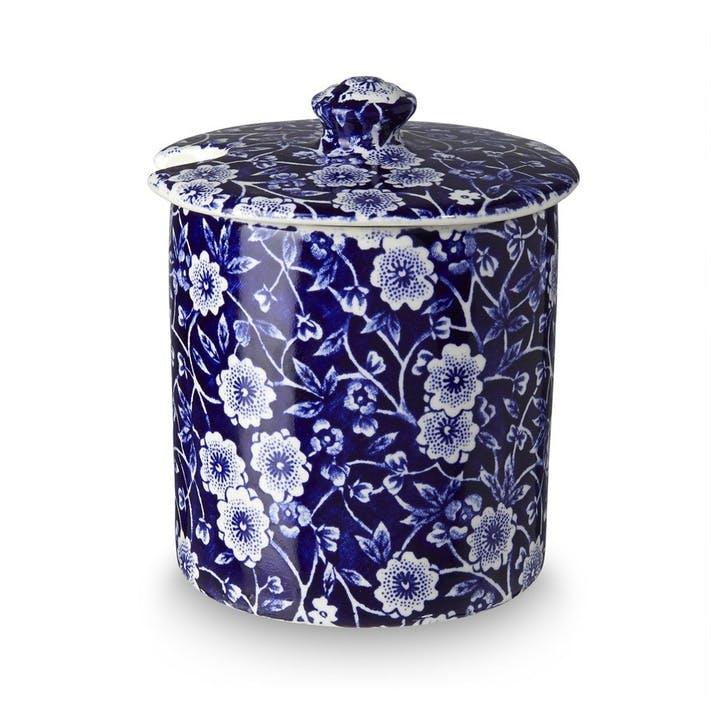 Calico Jam/Sugar Pot, 250g, Blue