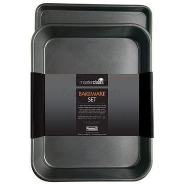 Non-Stick Roasting Pan & Oven Tray Set
