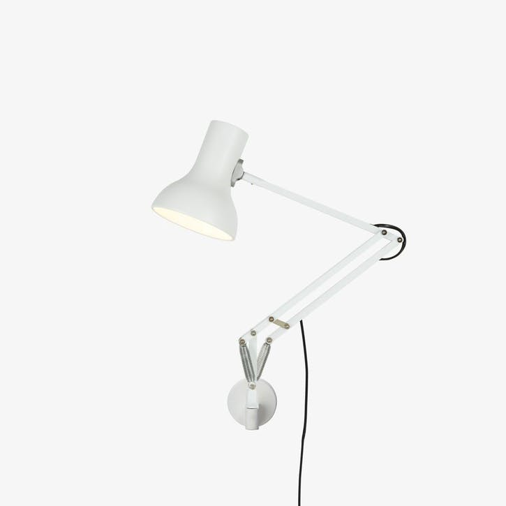 Mini Lamp with Wall Bracket Alpine White