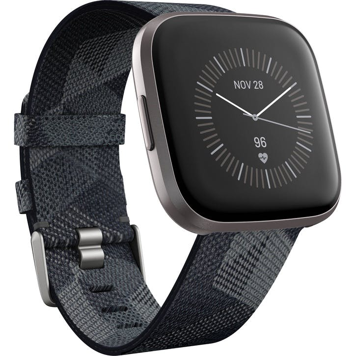 Versa 2 SE Smart Watch, Smoke Woven