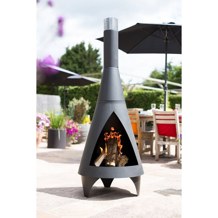 Colorado Steel Chimenea, Extra Large, Black