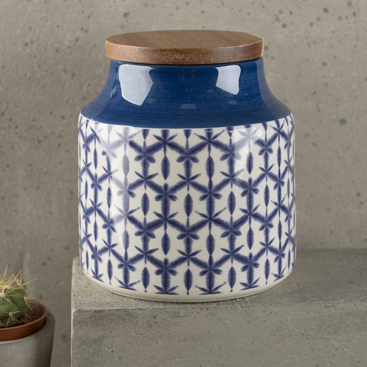 Drift Batik Storage Jar