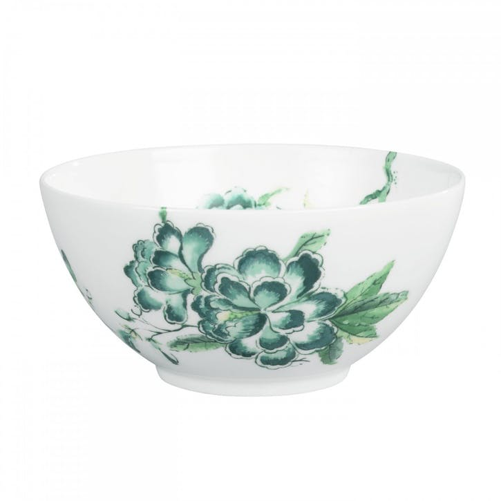 Chinoiserie Nibbles Bowl, White