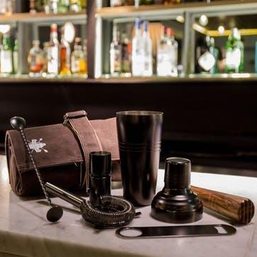 Cocktail Bag & Bar Tools Set