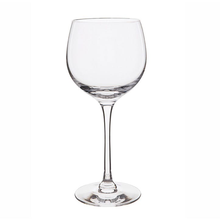 Chateauneuf Large Red/White Wine Glasses Pair