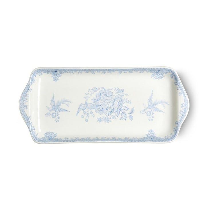 Asiatic Sandwich Tray, 28cm, Blue