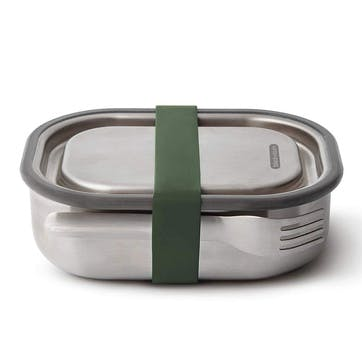 Stainless Steel Lunch Box, 600ml, Olive