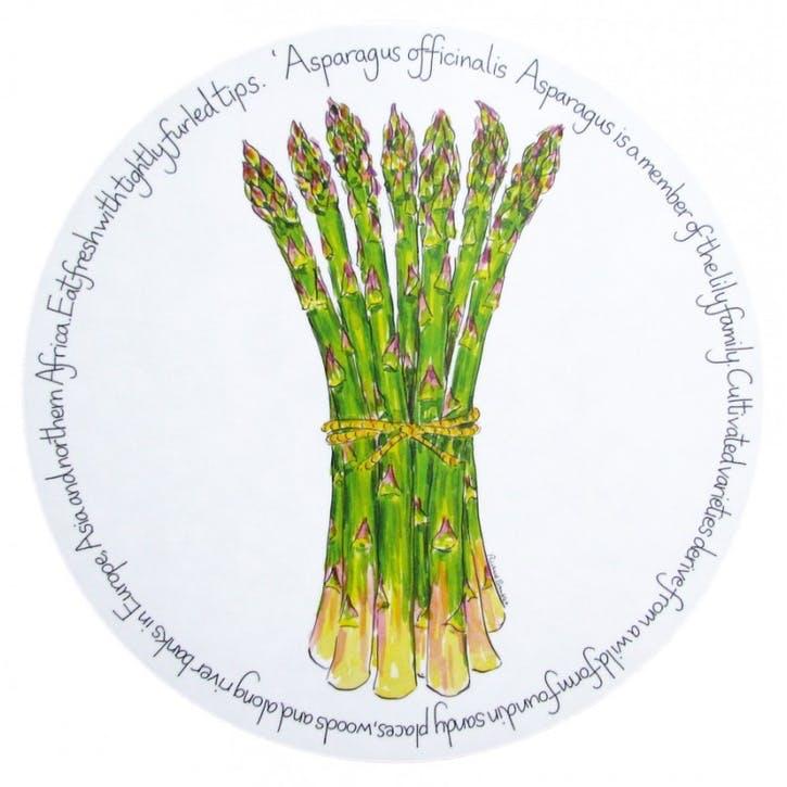 Asparagus Tablemat - 28cm
