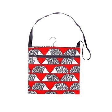 Spike Wipe Clean Peg Bag, Red