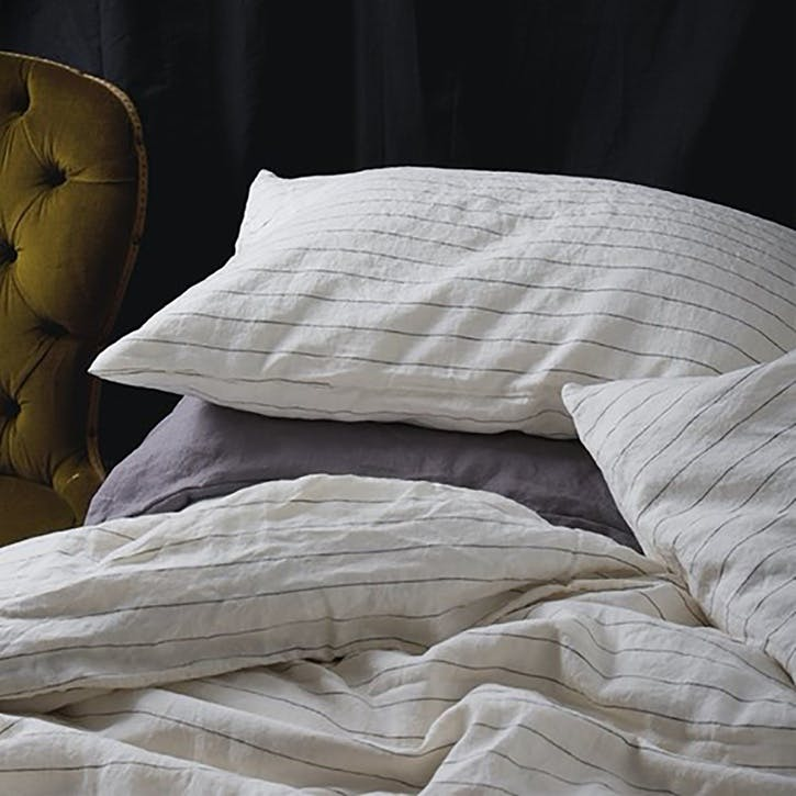 Complete Bedding Bundle Kingsize Set Luna Stripe