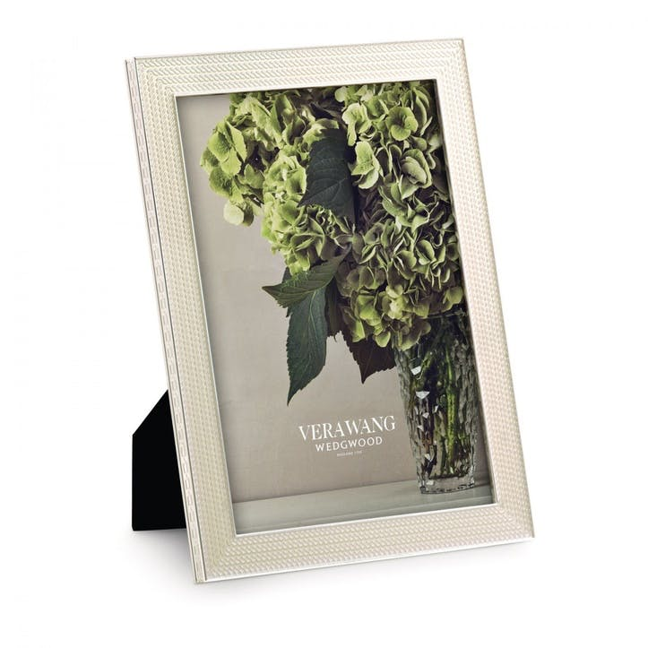 """With Love Nouveau Pearl Photo Frame, 5x7"""""""
