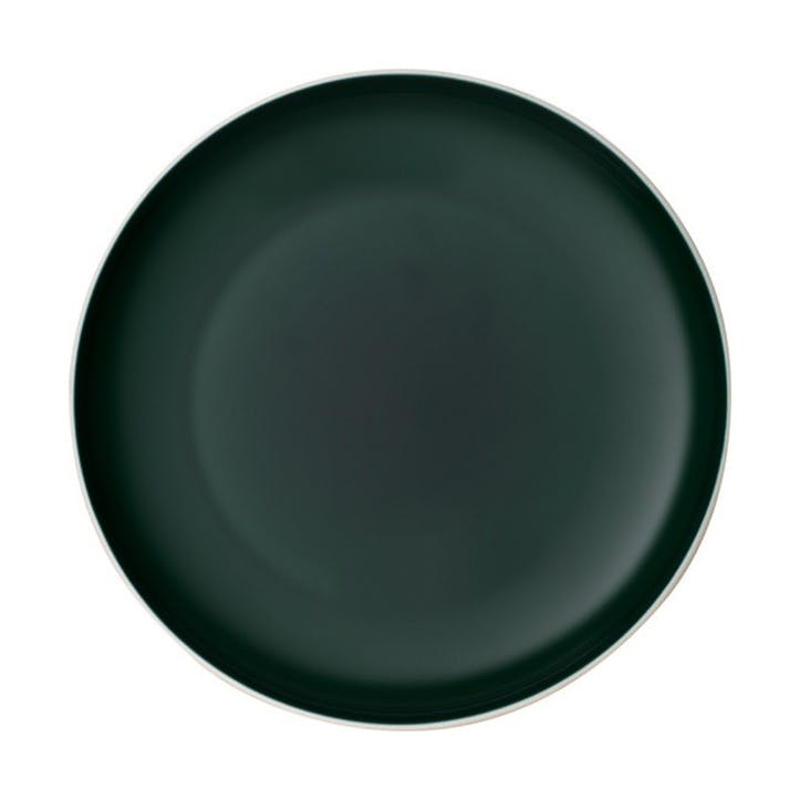It's My Match Uni Dinner Plate, Green