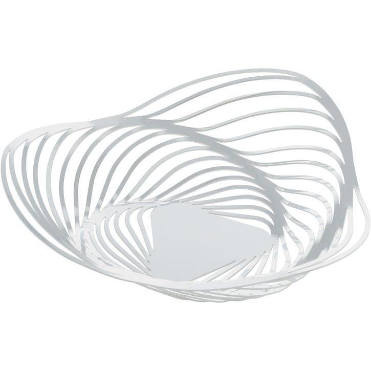 Trinity Basket; White