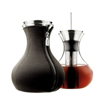 Tea Maker with Neoprene Cover - 1L, Black