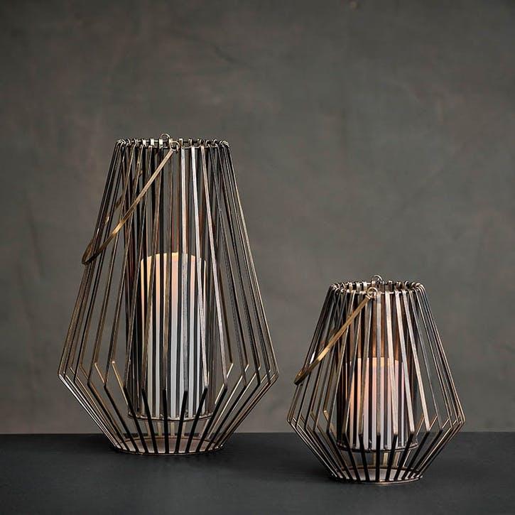 Atu Conical Wire Lantern, Small
