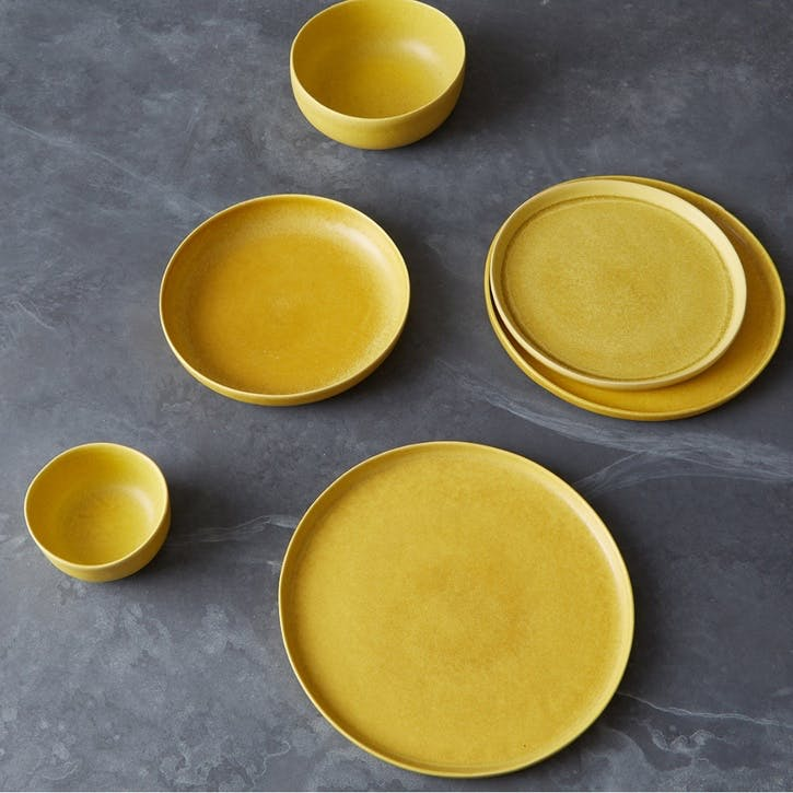 Nona Cereal Bowl, Yellow