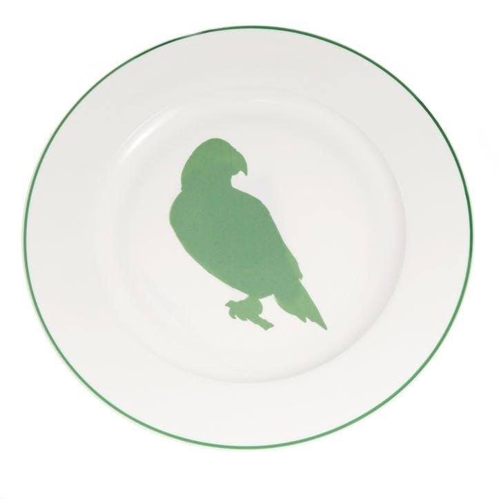Parakeet Dinner Plate