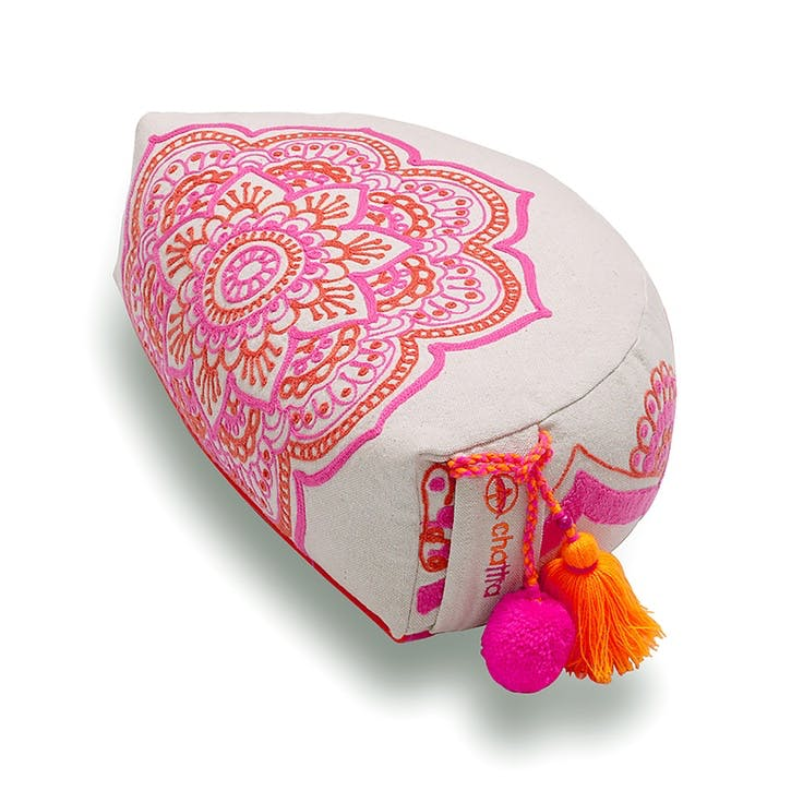 Rangoli Retreat Pillow Semi Circle