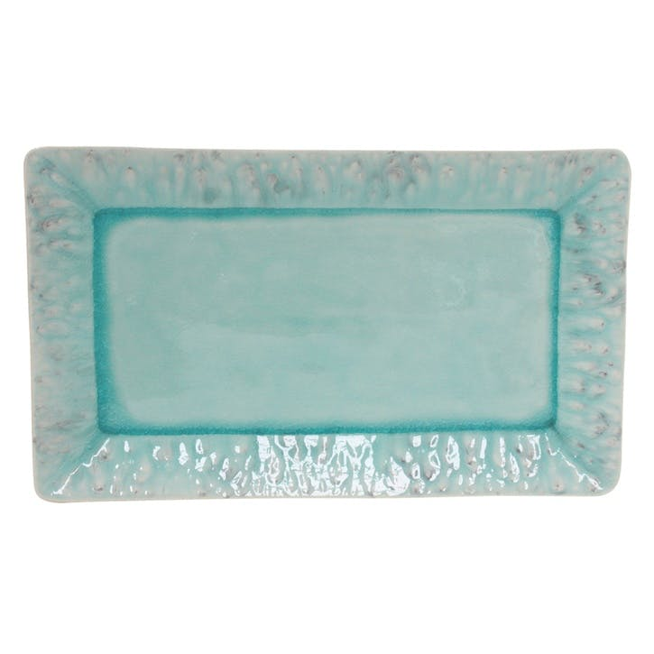 Madeira Blue Rectangular Platter
