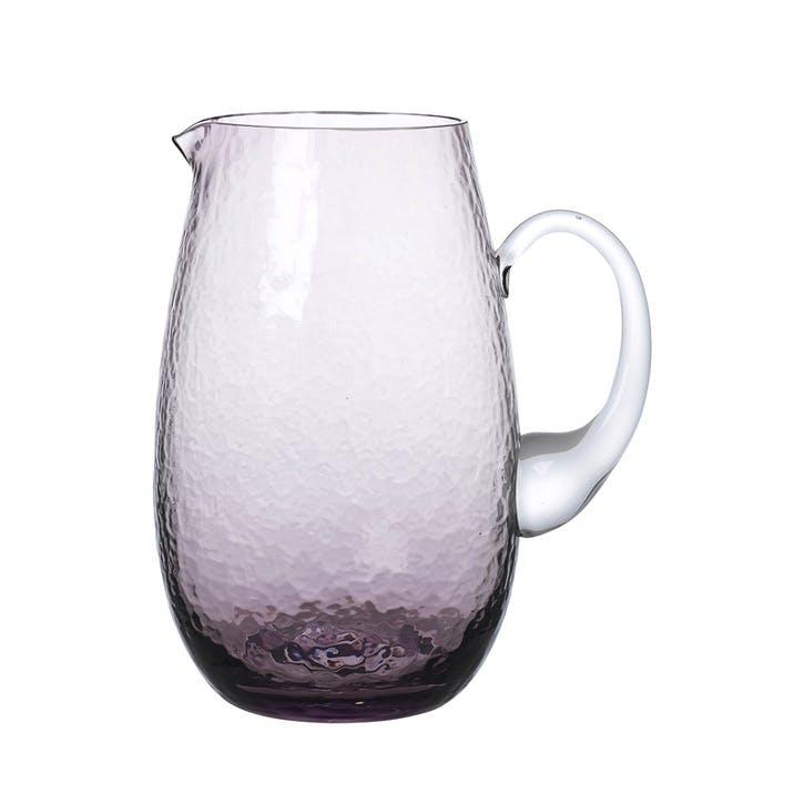 Hammered Jug, Purple