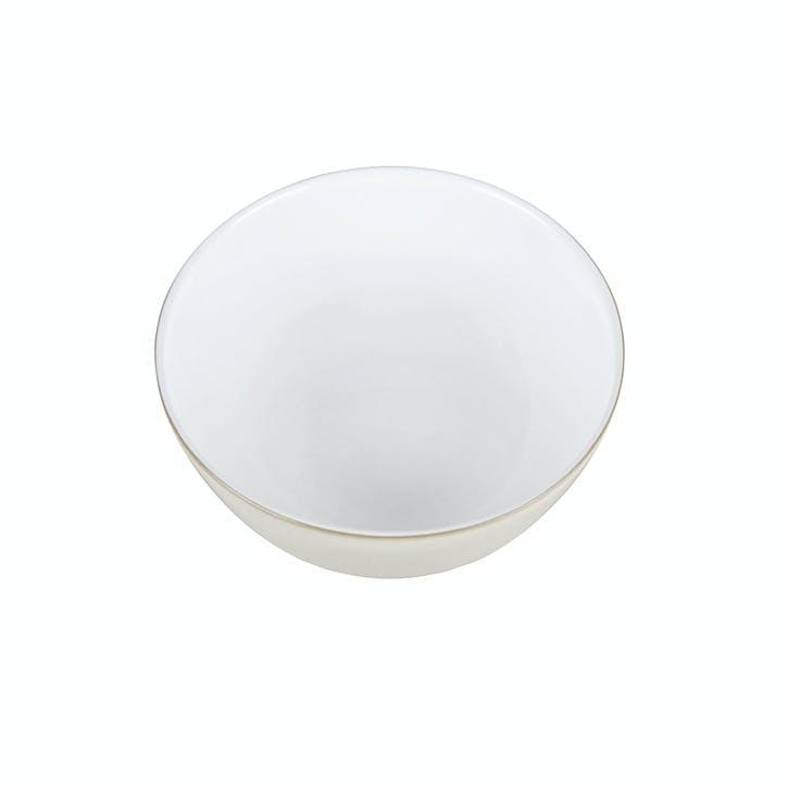 Natural Canvas Cereal Bowl, 15cm, Cream