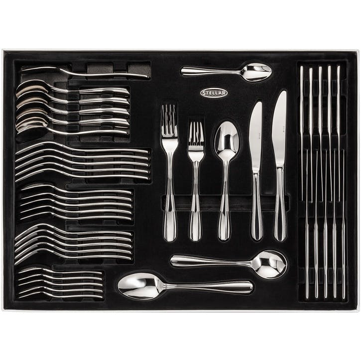 Sterling Cutlery Set, Gift Boxed - 44 Pieces