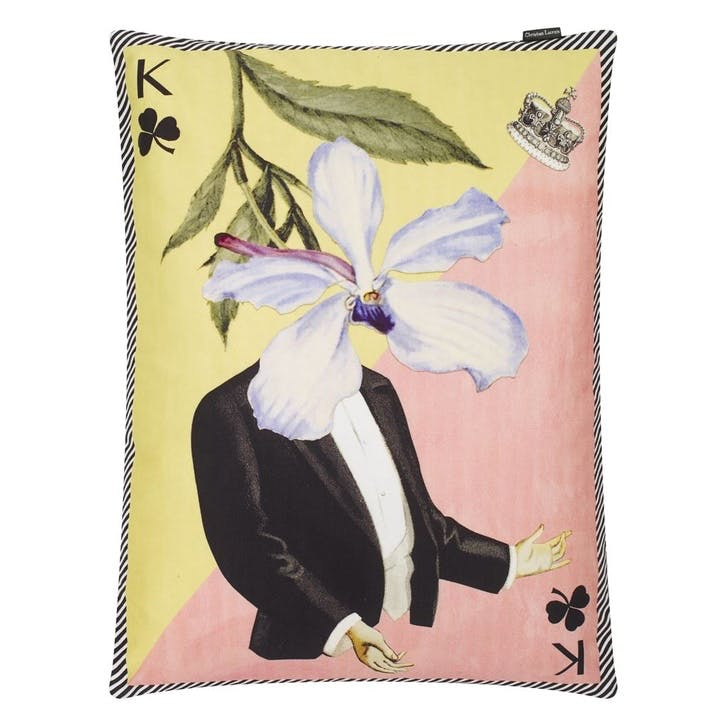 Monsieur Fleur Bleu Nigelle Cushion