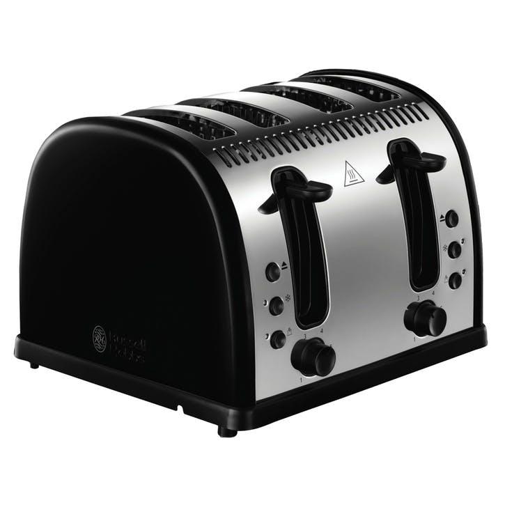 Legacy Toaster 4 Slot; Black