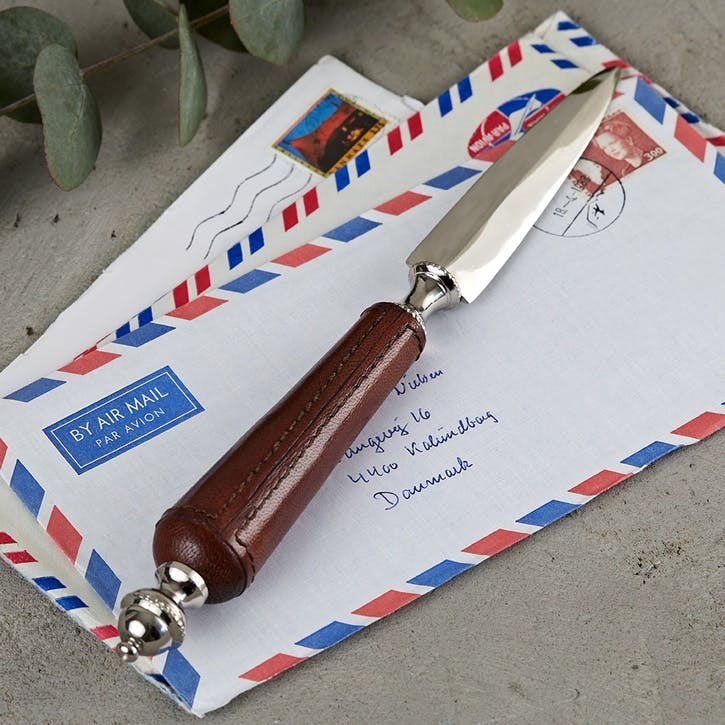 Leather Letter Opener