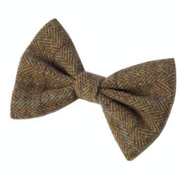 Tweed Bow Tie, Brown