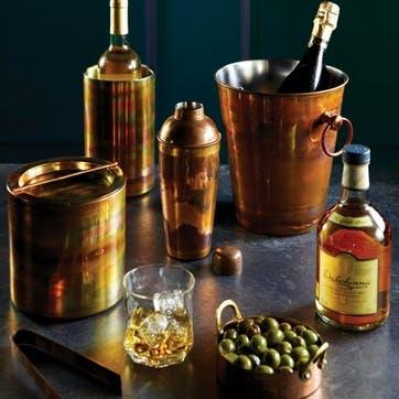 Iridescent Copper Cocktail Shaker