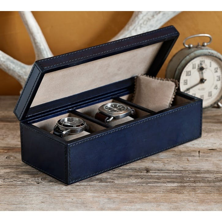Three Watches Storage Box