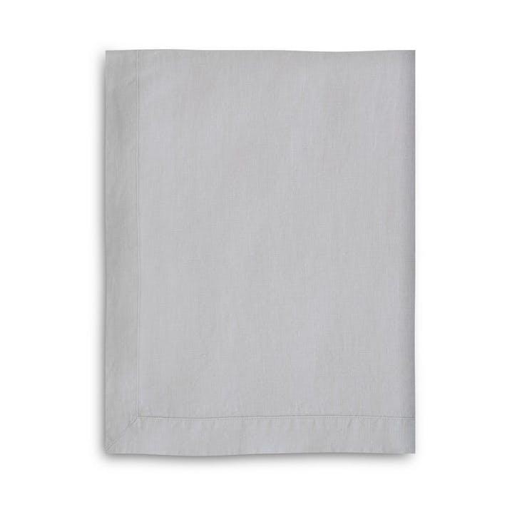 Mitered Hem Tablecloth, Dove Grey, 160 x 275cms