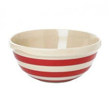 Mixing Bowl, 25cm, Red