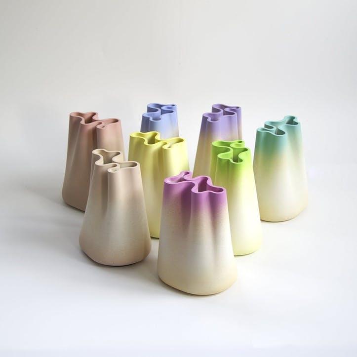 Jumony Small Vase, Lime