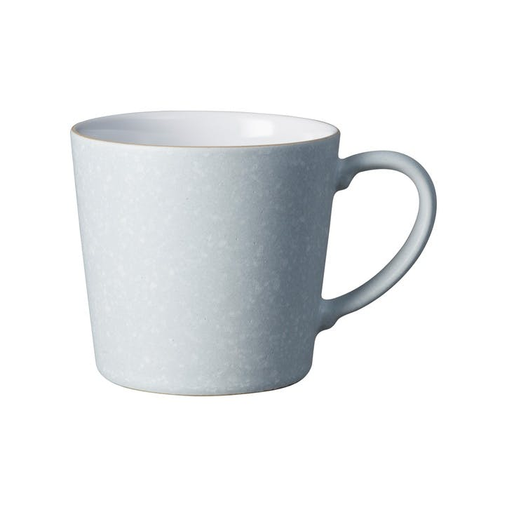 Handcrafted Grey Speckled Mug, 400ml